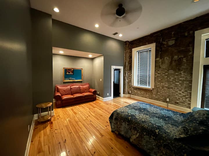The West Merry Widow loft in Downtown Mobile!