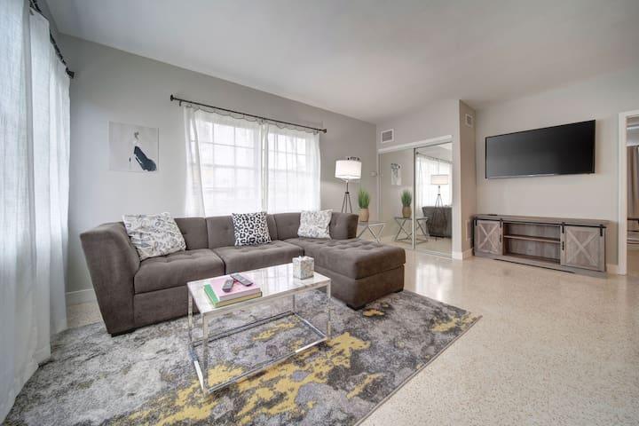 Large apartment, convenient location