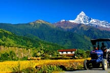 Beautiful View of Mountain in Nepal.