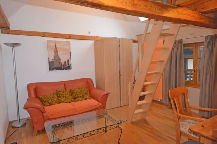 Sehr grosszüges Wohnen in Fachwerkhaus mit Garten! - Bruchköbel