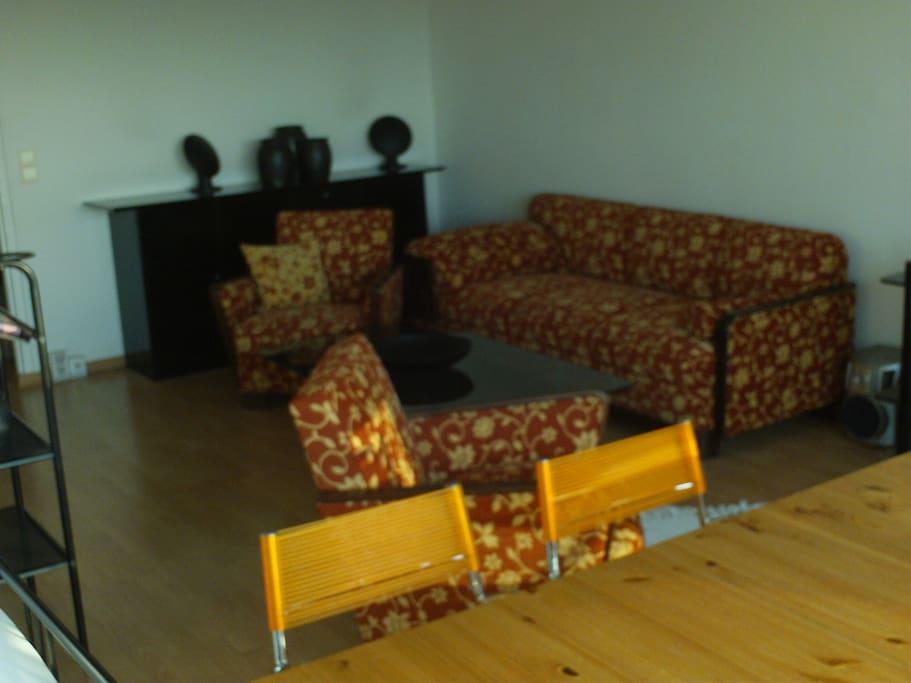 Gemeinschaftsraum Couch