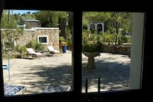 Looking from The Studio to The Casita