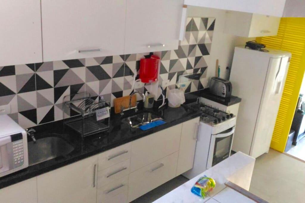 Nossa cozinha nova!