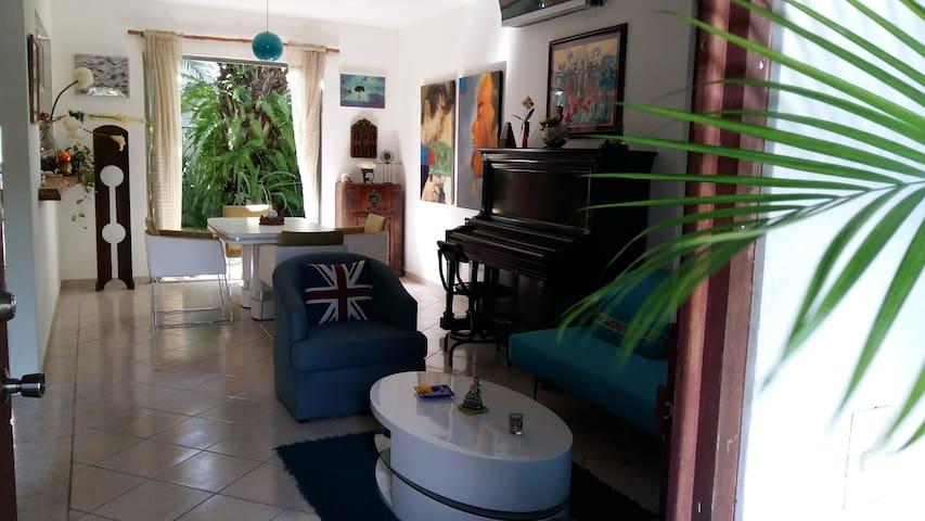 Beautiful house 2brms pool & garden - Playa del Carmen  - Hus