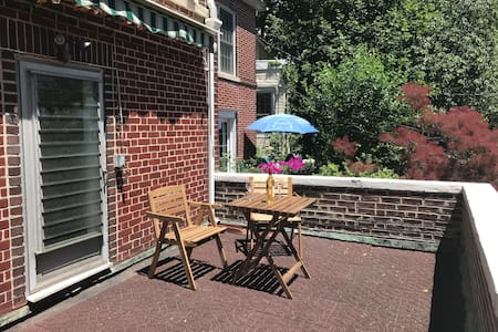 Private Apartment w/Sunny Balcony in Riverdale NYC