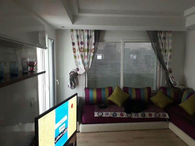 Appartement sur mer dans résidence privé