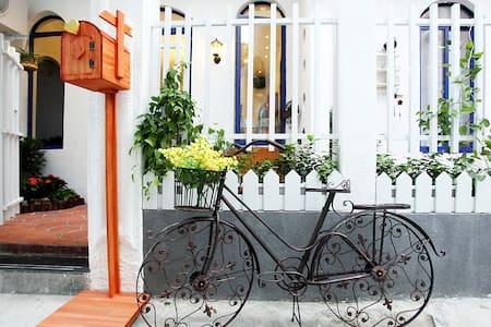 鼓浪屿美食街旁地中海风格的旅馆(伊亚双床房) - Xiamen