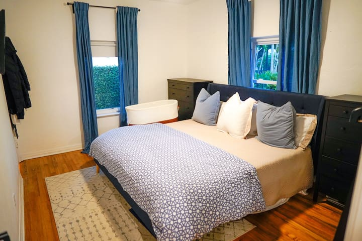 Master bedroom featuring a king bed