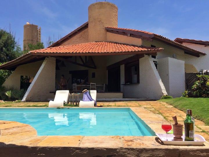 Kite Lounge - Incrível Casa na Praia de Guajiru!