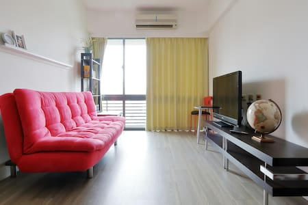 Pure Yoga Space with 2 bed rooms - Guishan District - 公寓
