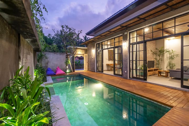 2BR Clean, Cozy Pool Villa close to Ubud Center #2