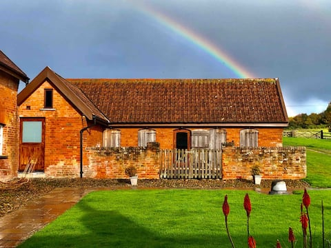 Contemporary, luxury, rural accommodation