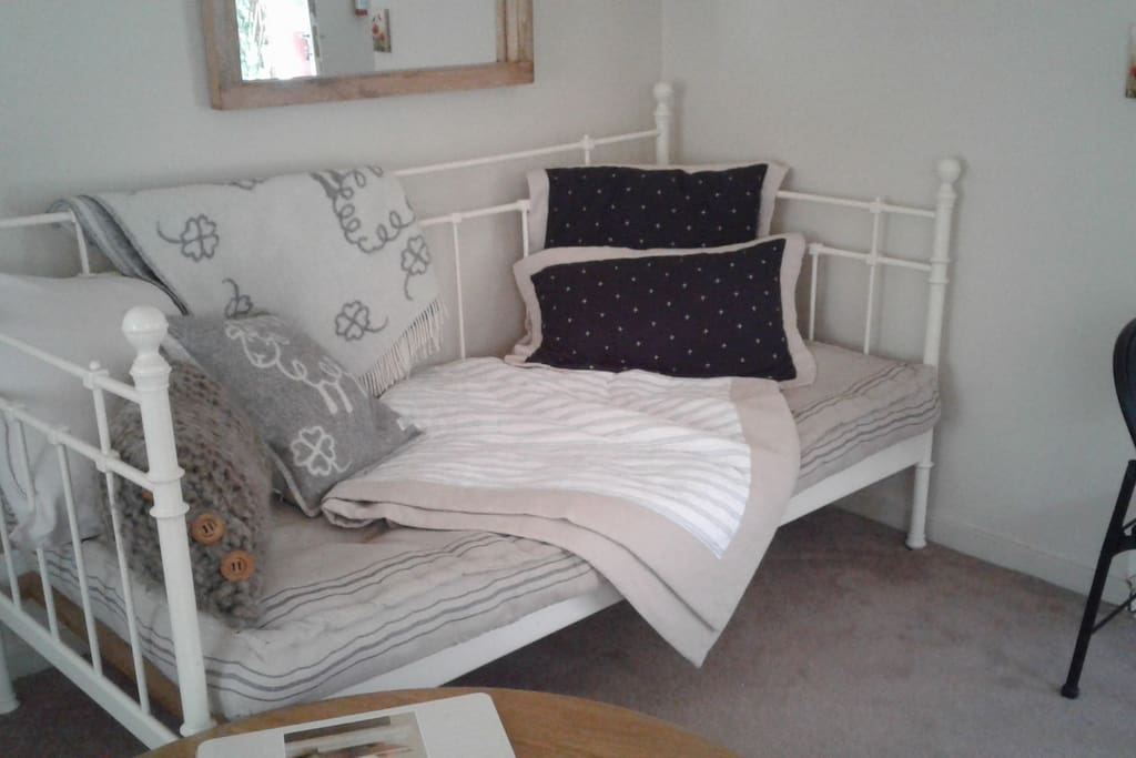 Day bed. Suitable for a child to sleep overnight on