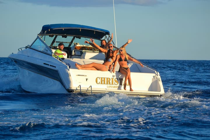 Barco Sea Ray 38 Clasic. - Puerto Calero - Boot