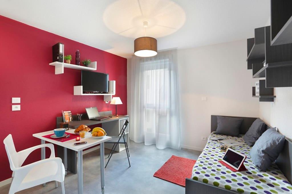Studio Meubl En Plein Centre Ville Appartements Louer