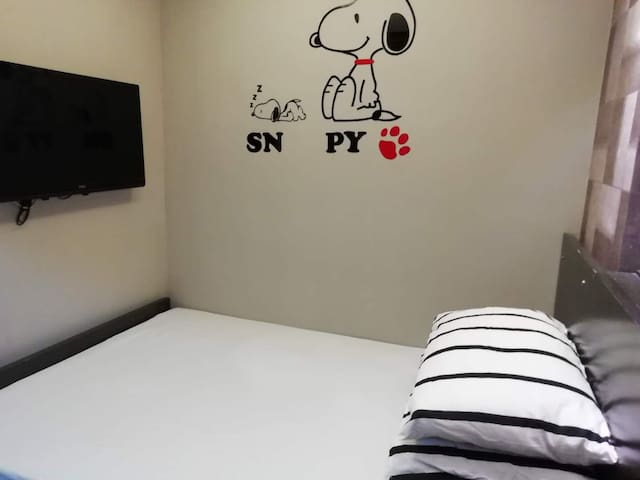 HFG1/2尖沙咀地铁舒适大床房 Cozy studio Tsim Sha Tsui near MT
