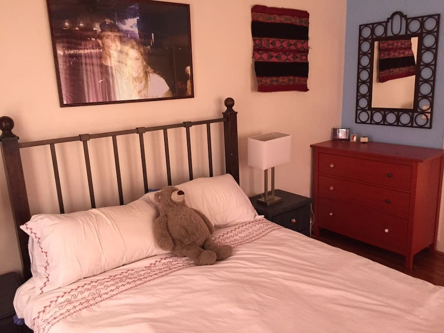 You will have a fully Private Room with a Queen Sized Bed in the best part of Austin!