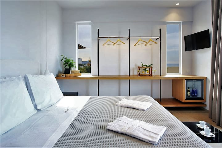 Modern Design Double bedroom with sea view
