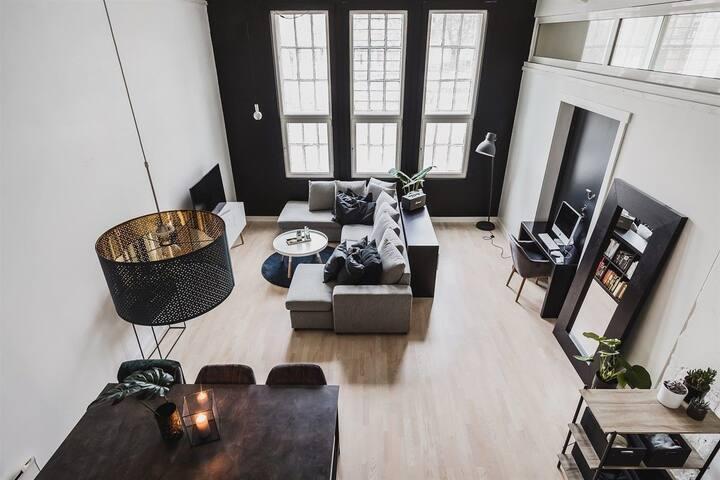 Moderne leilighet med gåavstand til sentrum