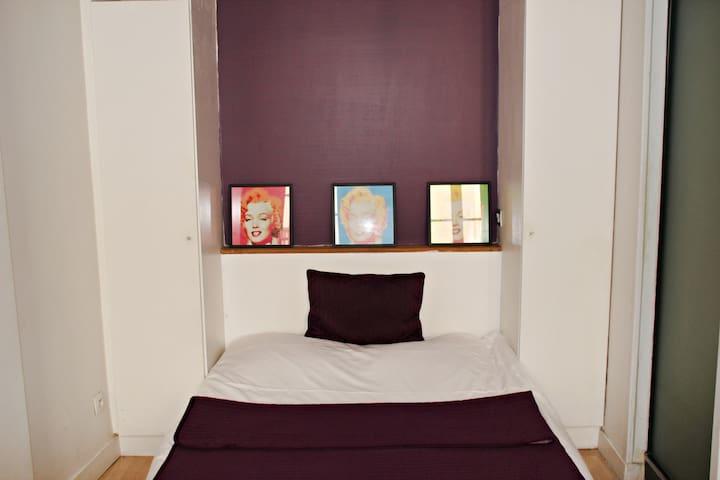 Studio Moderne  entre le Marais et Beaubourg
