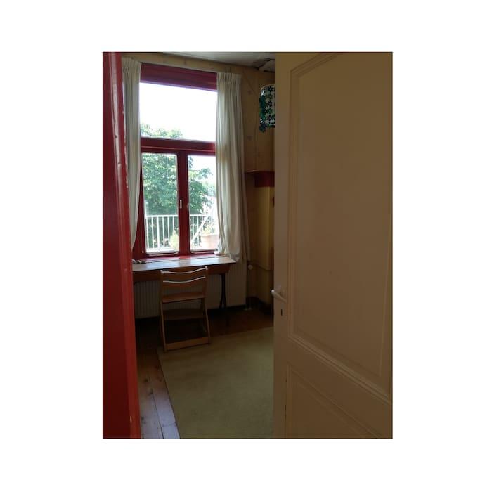 Kamer vanaf de deur