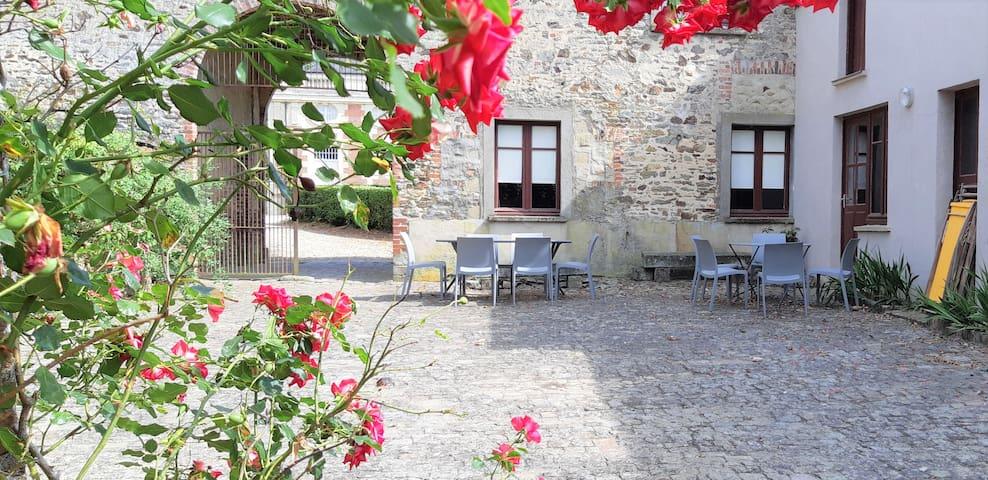 Gîte du fournil  - château de Craon
