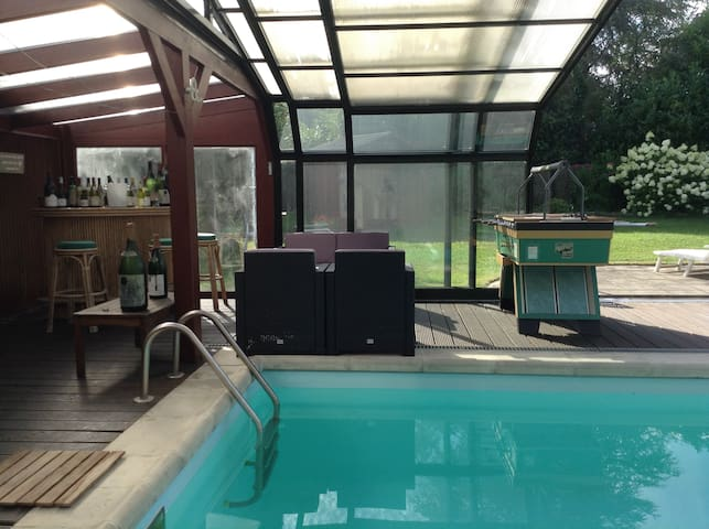 Small studio for 2 people with swimming pool