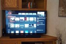 TV - Satellite, internet, wifi service