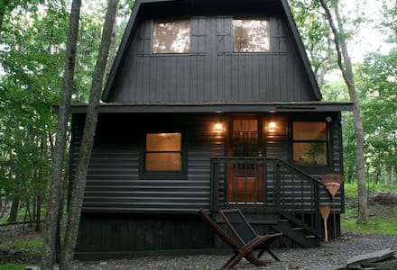 The Alder House - A Winter Cabin in the Poconos