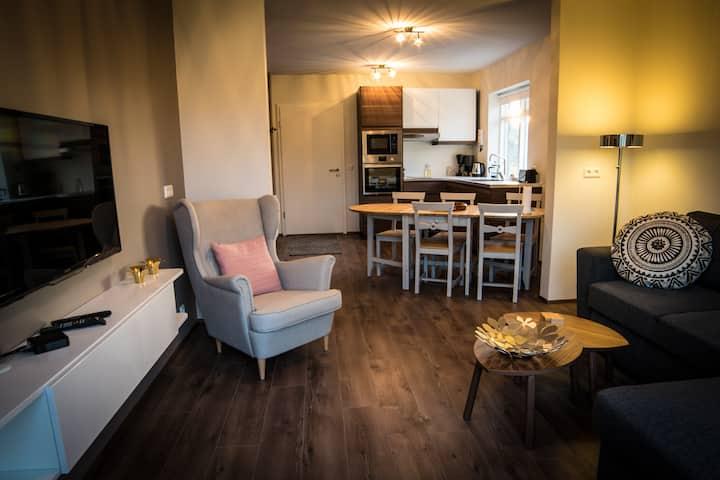 Breiðamýri Farm Apartments - Two-Bedroom Apartment with Garden View Apt 20