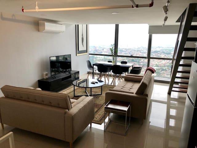 Luxury  duplex at Pinnacle @sheraton petaling jaya