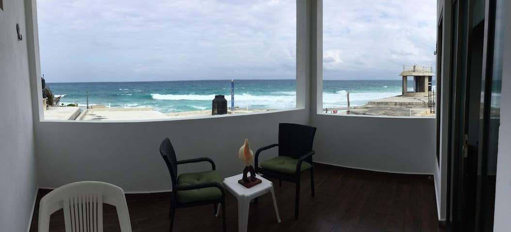 DEPARTAMENTO CON VISTA AL MAR - Isla Mujeres - Appartement