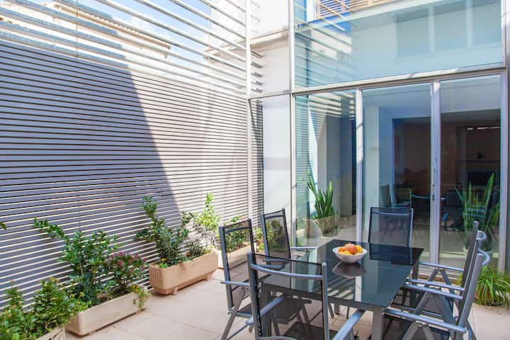 CAN MODERN - Apartment with terrace in Sa Pobla. Free WiFi