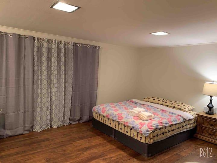 Remodeled room w/Private bath near BART, SF,SFO