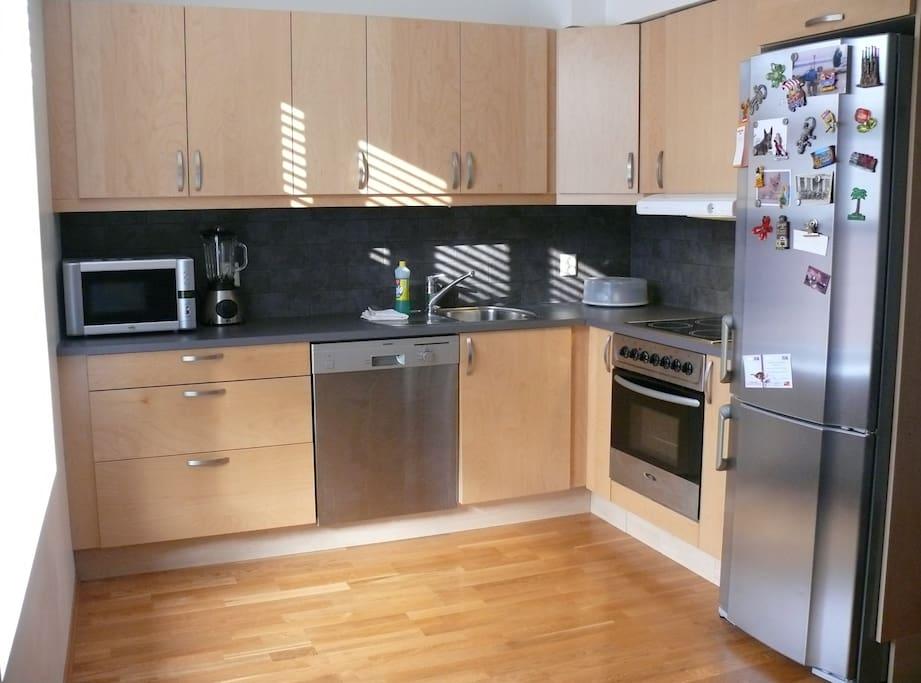 Modern and nice kitchen