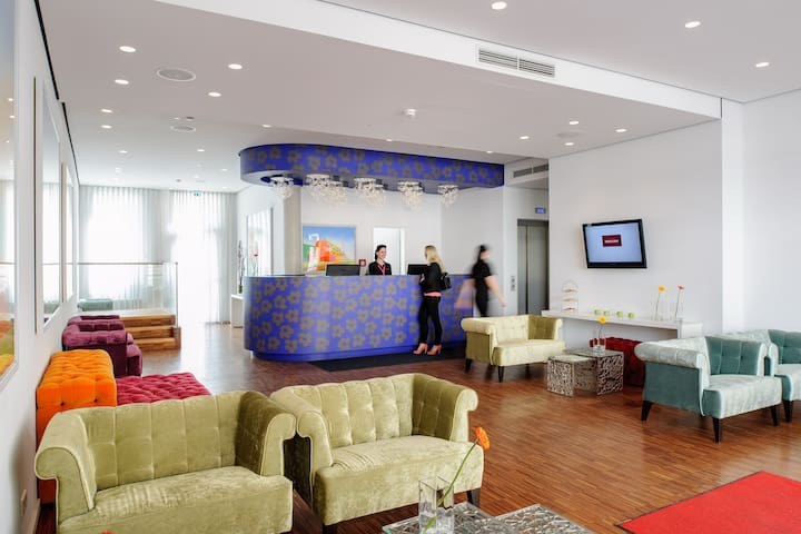 Kleines Kunst- und Designhotel