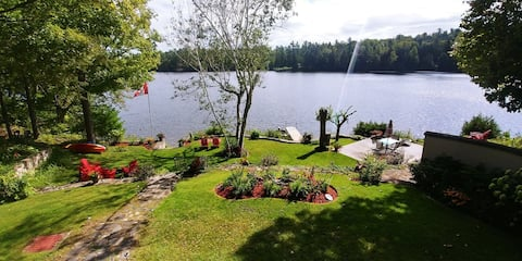 """""""The Dragonfly""""  Waterfront Suite in Calabogie."""