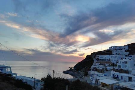 Perigiali folegandros - Folegandros - Aamiaismajoitus