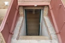 Low entry - Private entrance through egress around the back of the house