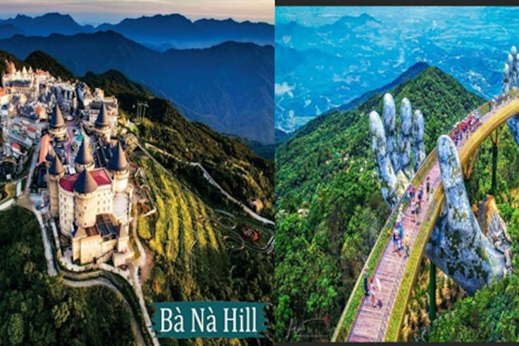 BANA HILL you need a day to enjoy the scenery and take pictures