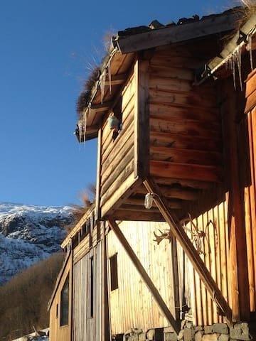 Overnatting i innreda låve, Rabbe Fjellgard Røldal - Odda - Other