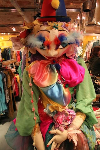 one of our rag dolls 6 feet tall,