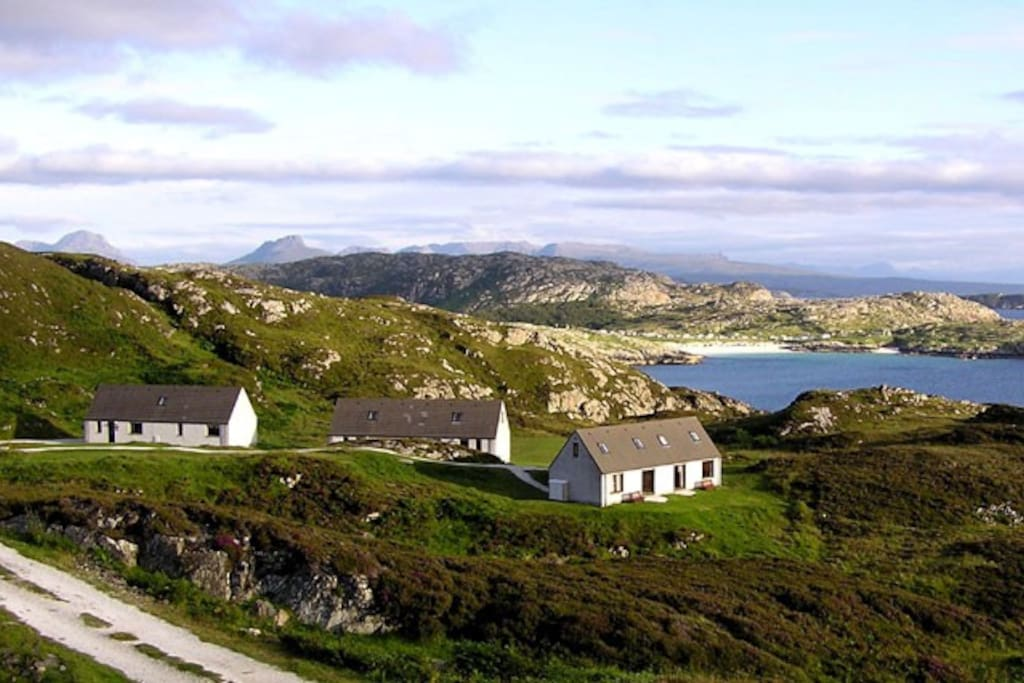 Our cottages on Scotland's stunning North West cost. Right on the NC500 route!