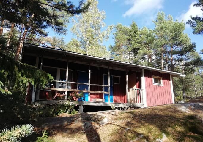 Traditional Finnish Summer Cottage Truten