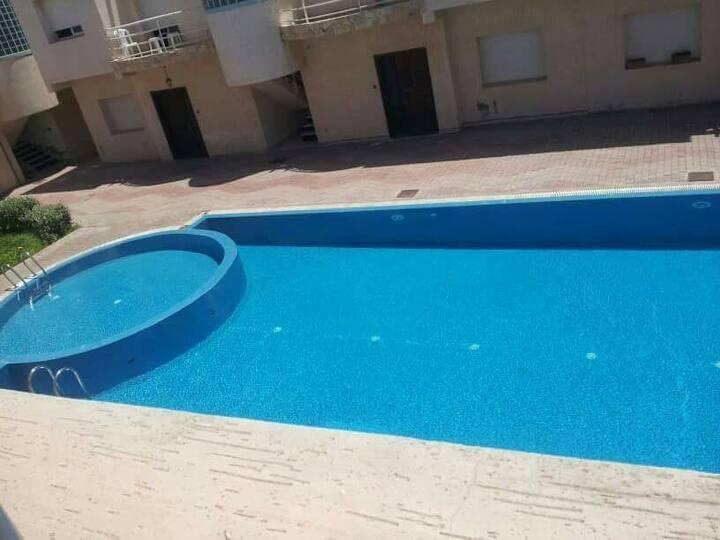 Bel appartement avec piscine - 5min de la corniche