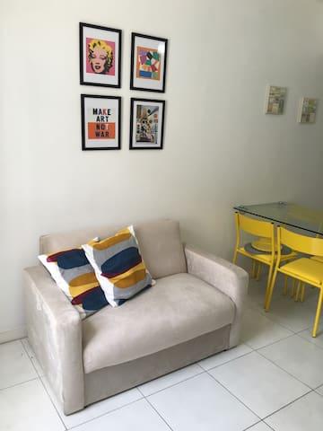 Apartamento super aconchegante e confortável!
