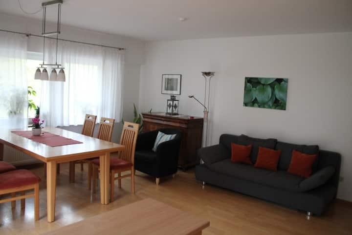 Haus Michaela, (Münstertal), Ferienwohnung mit 71qm, 2 DZ, max. 4 Pers., EG, Terrasse
