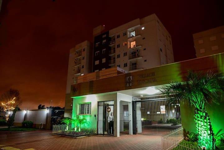 Apto próx. Centro Canoas, PoA, Aeroporto e Arena.