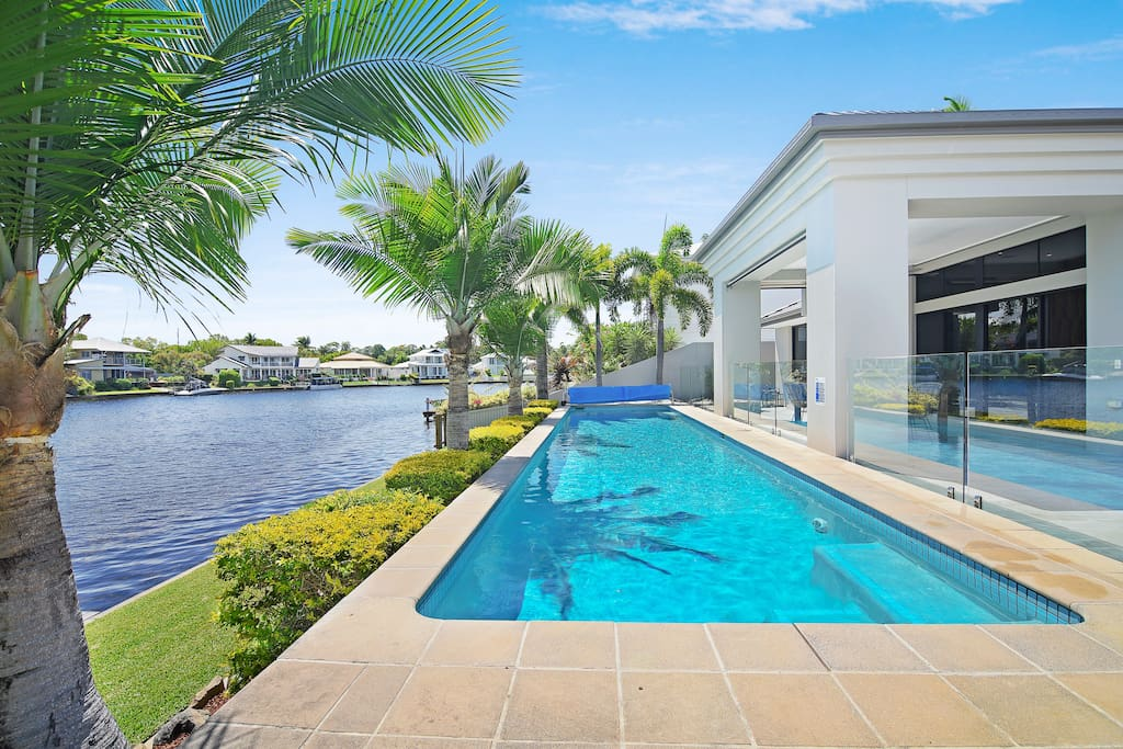 15m Lap Pool overlooking gorgeous Noosa River