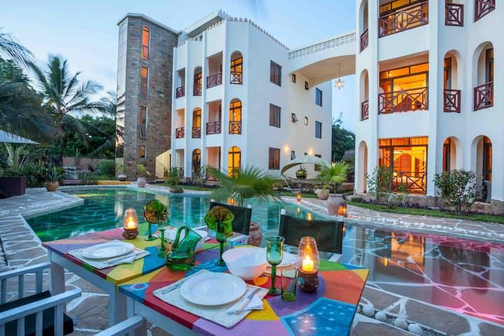 Amani Luxury Apartments,Diani Beach